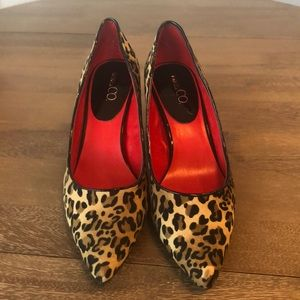 Nine &CO animal print pumps